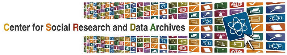Center for Social Research and Data Archives (CSRDA)